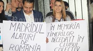 Românii din Spania au manifestat în semn de solidaritate cu protestatarii din România