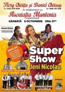 Afiş Super Show cu Jeni Nicolau în Torrejon de Ardoz
