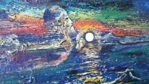 """Vernisaj de pictură din proiectul Serile """"acasă"""" la Ambasada României la Madrid: """"Don Quijote în Carpați"""", de Ioan Oniciuc"""