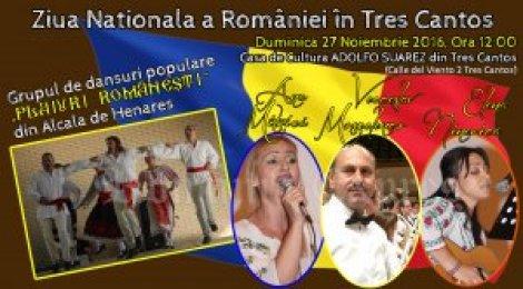 Afiş Ziua Naţională a României în Tres Cantos