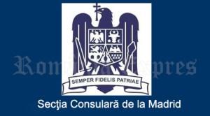 Secţia consulară de la Madrid