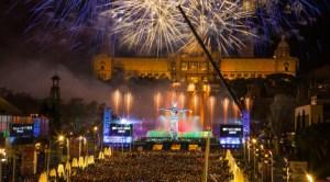 Revelion în Barcelona