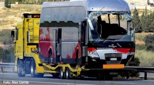 Accident de autocar în Freginals