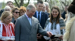 Prinţul Charles la Muzeul Satului din Bucureşti