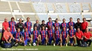 Gică Popescu a jucat în meciul în care legendele Barcelonei le-au învins pe cele ale lui Real Madrid