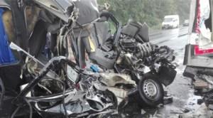Ungaria, ţara morţii pentru românii din străinătate: Trei români morţi şi şase răniţi într-un accident rutier petrecut în apropierea vamei Nădlac