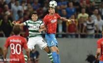FOTBAL: FCSB, umilită şi eliminată din Liga Campionilor de Sporting Lisabona!