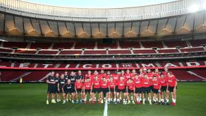Atletico Madrid la primul antrenament pe Wanda Metropolitano