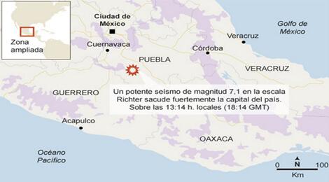 Cutremur in Mexic