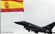 ALBACETE: Ziua Spaniei umbrită de prăbuşirea unui avion Eurofighters care se întorcea de la parada militară de la Madrid