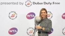 TENIS: Simona Halep a primit trofeul de lider mondial WTA la final de an