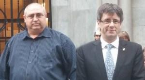 Valentin Cocoş şi Carles Puigdemont