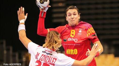 România - Spania, handbal feminin