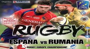Spania - Romania, rugby