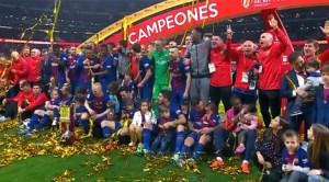 FC Barcelona a câştigat pentru a 30-a oară Cupa a Regelui, cea mai veche competiţie din Spania