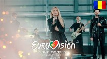 Trupa The Humans, reprezentanta României la Eurovision 2018, pe scena ESPreParty din Madrid