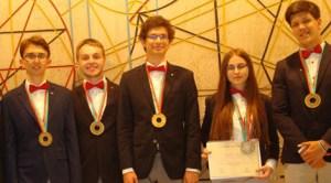 Cinci medalii la Olimpiada Internaţională de Fizică
