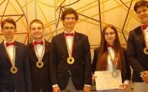 Lotul României a obţinut cinci medalii la Olimpiada Internaţională de Fizică: una de aur, două de argint şi două de bronz
