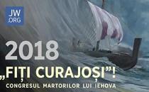 """""""Fiţi curajoşi!"""" Congresul anual al Martorilor lui Iehova din Spania 2018"""