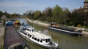 Râul Bega navigabil
