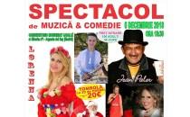 Spectacol de Moş Nicolae în Arganda del Rey, cu solista Lorenna şi actorul de comedie Jean Paler