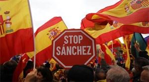 Dreapta şi extrema dreaptă din Spania a protestat la Madrid împotriva premierului socialist Pedro Sanchez