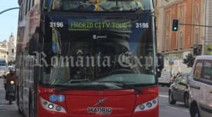 Autobuz turistic în Madrid