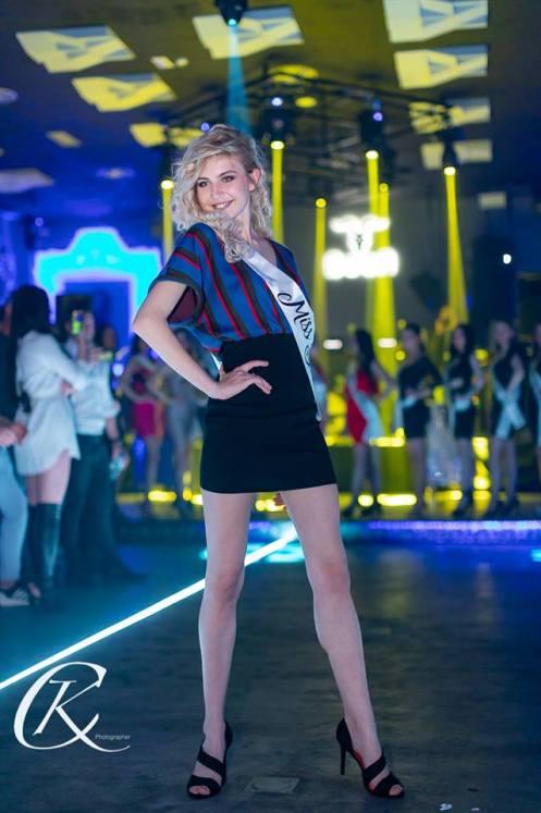 Bianca Ceausescu, concurenta Miss Beauty Romania
