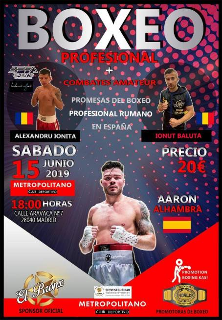 Gala de box in Madrid