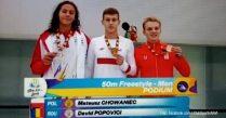 FOTE 2019: Medalie de argint şi medalie de bronz obţinute pentru România de înotătorul David Popovici şi judoka Alexandra Paşca