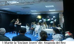 """1 Martie la """"Enclave Joven"""" din  Arganda del Rey"""
