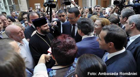 Întrevederea premierului Victor Ponta cu reprezentanți ai comunității de români din Spania