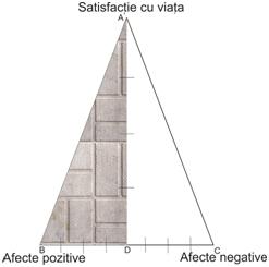 Fig. 1. Triunghiul fericirii