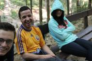 9.15.14 Resting on the way to the ice caves