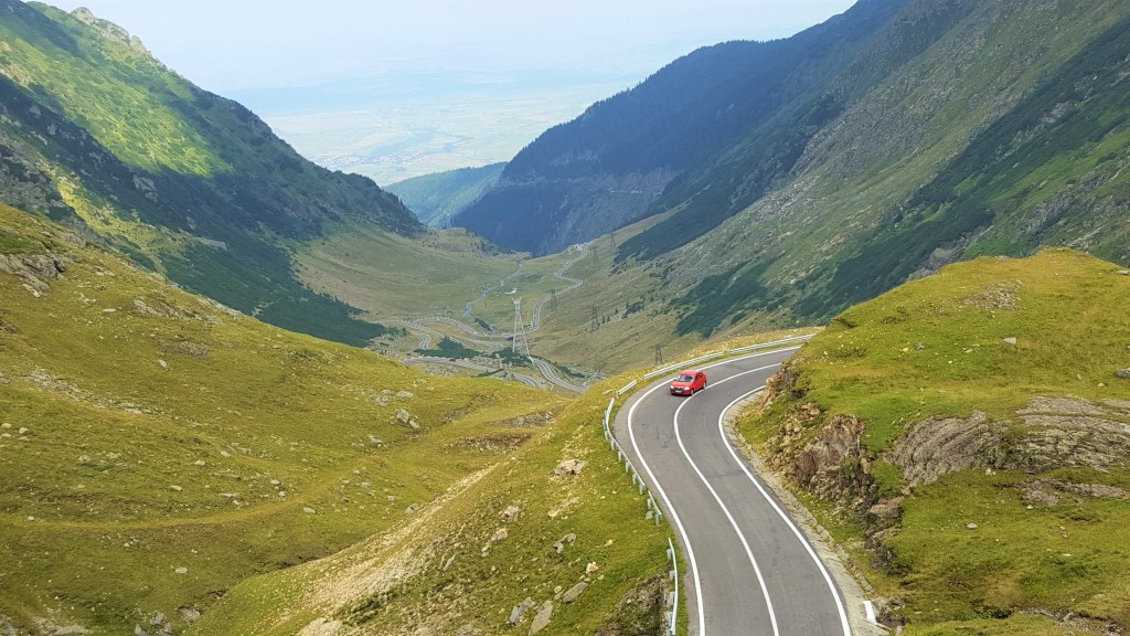 driving on Transfagarasan