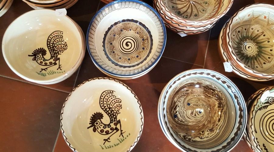romanian pottery horezu