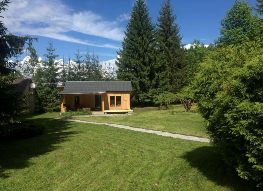 Cabana in padure Toplita Romania