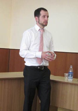 Lecturing at Donetsk University of Economics & Law