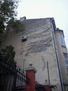 AC Unit on a building in Lviv