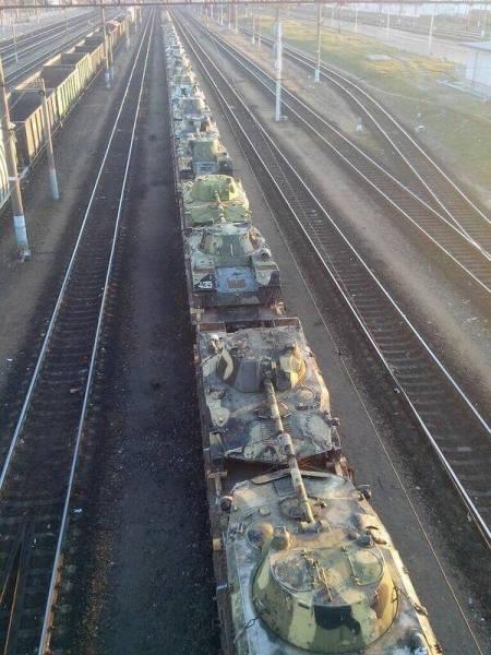 Tanks-in-Bryansk-Russia