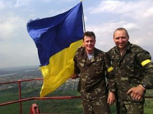 Flag-Raised-Slaviansk