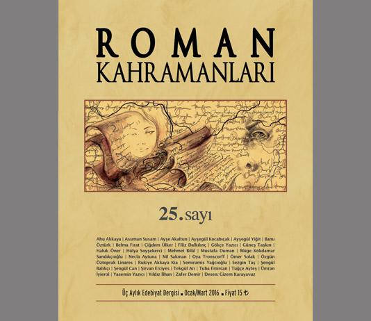 Roman Kahramanları 25. Sayı