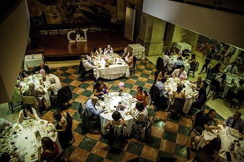 fotógrafos para bodas en segovia, restaurante y mesas