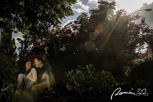 reportaje de novios realizado por Román Larrodé-fotógrafo de bodas en Madrid