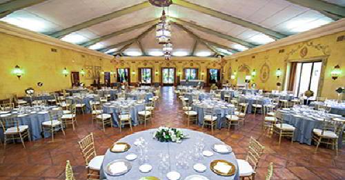 Salón de comidas para bodas de Casa Juaneca