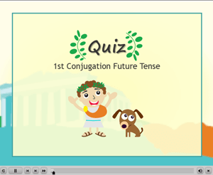 1st Conjugation Future Tense Quiz