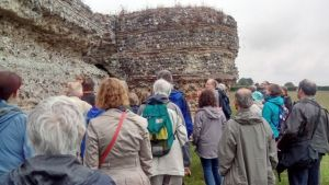 SGRP 2015: Tour of Burgh Castle Saxon shore fort