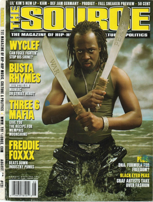 Wyclef The Source-Aug-2000