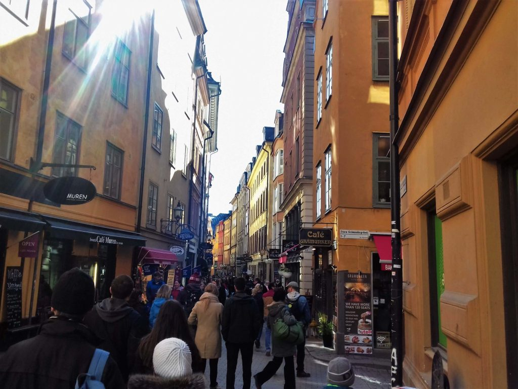 City center in Stockholm