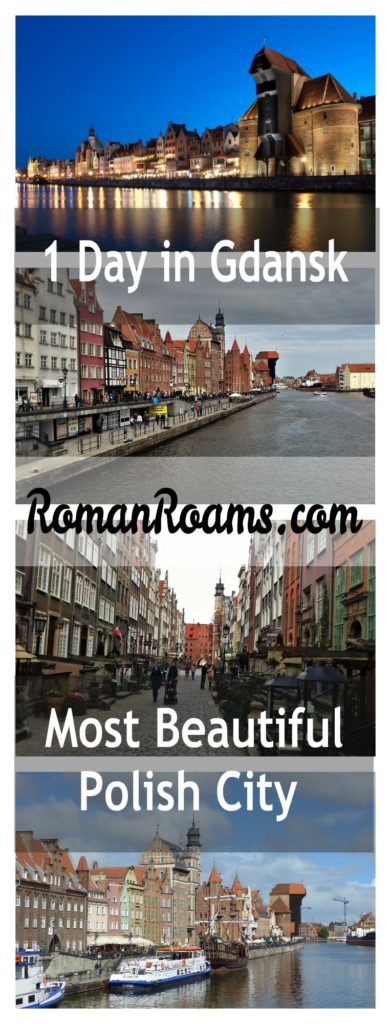 1 day in Gdansk, Poland. Things to do in 1 day